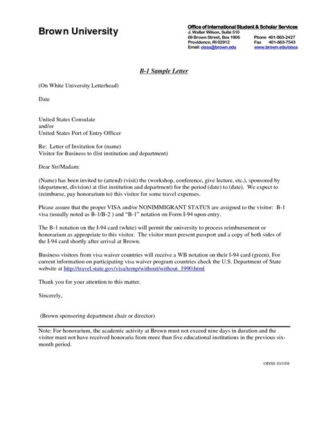 International Academic Conference Invitation Letter