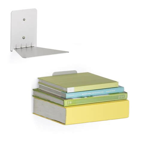 concealed book shelf umbra conceal wall mount floating invisible large