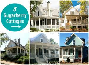 southern style floor plans sugarberry cottage 5 houses built with same popular plan