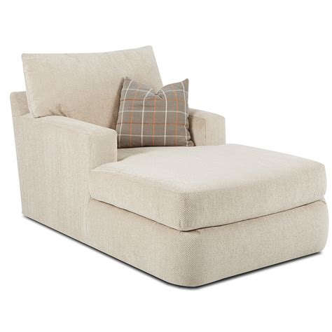 Klaussner Furniture Simms Chaise Lounge & Reviews Wayfair