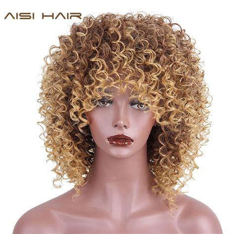 Noble Hair Lace Front Ombre Blond Paryk 30 Tum Lång Vågig