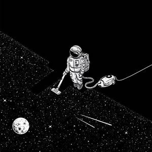 Trippy Astronaut Drawing (page 3) - Pics about space