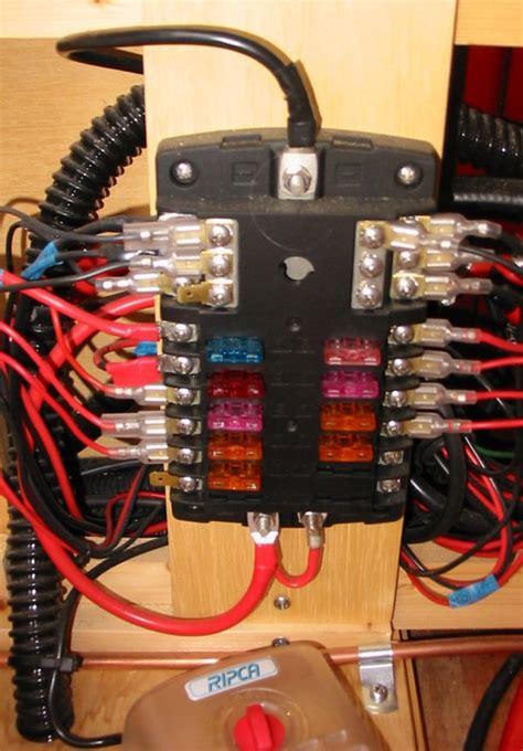 Marine Fuse Box Wiring by A Self Build Motorhome Electrics