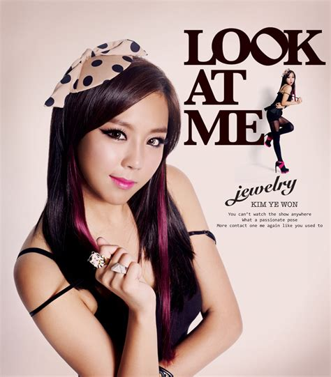 Jewelry kpop group images Jewelry 'LOOK AT ME' teaser