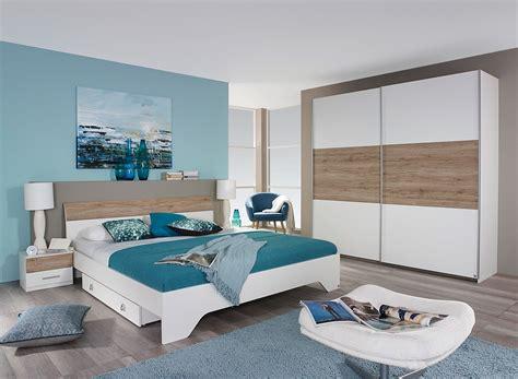 couleur de chambre adulte moderne chambre adulte contemporaine blanche chêne clair nahel