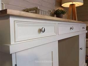 Solid Pine Handmade Painted Desk Farmhouse Furnishings