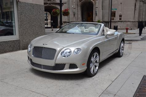 gold bentley 2012 bentley continental gtc used bentley used rolls