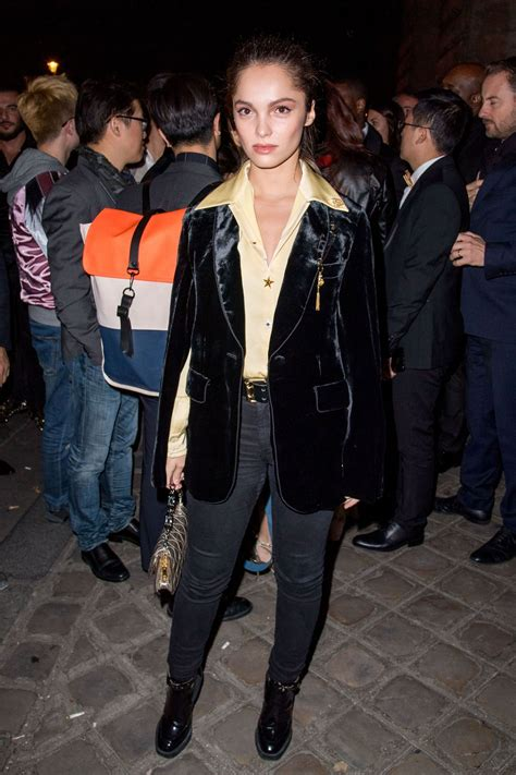 Lola Lann Arriving The Oreal Gold Obsession Party