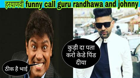 Guru Randhawa Funny Song And Johnny Lever Comedy In