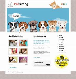 pet sitting website template 31502 With dog sitting website