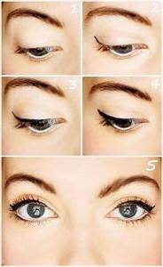 Eyeliner Für Anfänger : cat eyes eyeliner and make up make up eyeliner und eyeliner hacks ~ Frokenaadalensverden.com Haus und Dekorationen