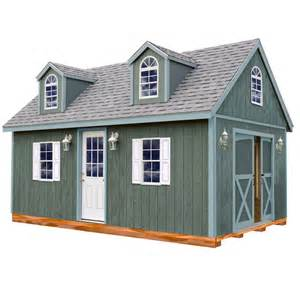 best barns arlington 12 ft x 20 ft wood storage shed kit with floor including 4 x 4 runners