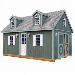 best barns arlington 12 ft x 16 ft wood storage shed kit With 16 x 28 barn kit