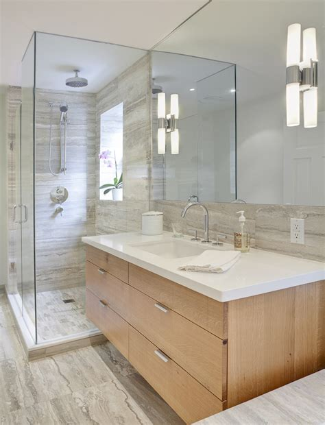 Houzz Bathroom Vanities Modern by Houzz Bathrooms Bathroom Contemporary With Floating Vanity
