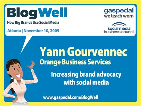 si鑒e social orange blogwell atlanta social media study orange business services p