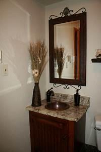 how to make a small half bathroom look bigger small half With how to make a small half bathroom look bigger