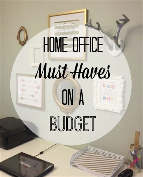 office desk must haves home office must haves on a budget moms without answers