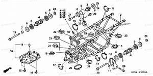 Honda Atv 2005 Oem Parts Diagram For Frame