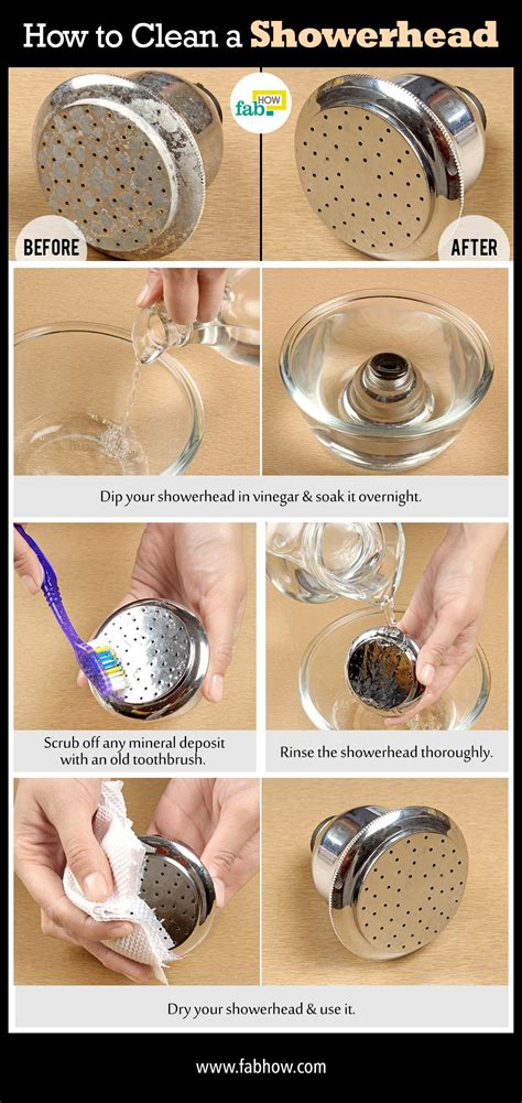 How To Clean A Shower Head With Baking Soda And Vinegar