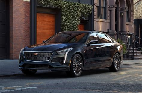 2019 Cadillac Ct6 V-sport Is The Statesman Replacement We