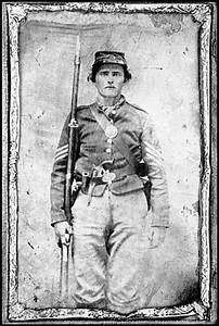 An unidentified Union Soldier