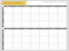 Free 2 Week Calendar Printable Calendar Template 2018