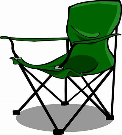 Chair Clipart Camping Clip Camp Furniture Chairs