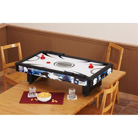gld products main street classics  mini air hockey