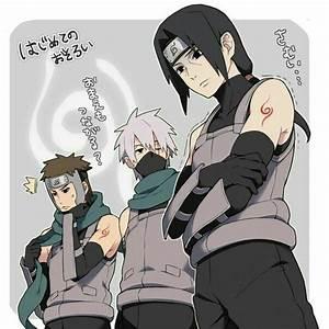 Yamato, Kakashi, and Itachi!!!! | Kakashi | Pinterest ...