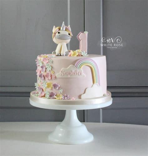 cake designers me unicorn 1st birthday cake white cake design cake