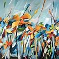 Floral Paintings by American artist Holly Van Hart ...