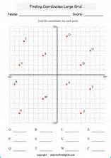plotting pairs on grids math worksheet for math class 6 or