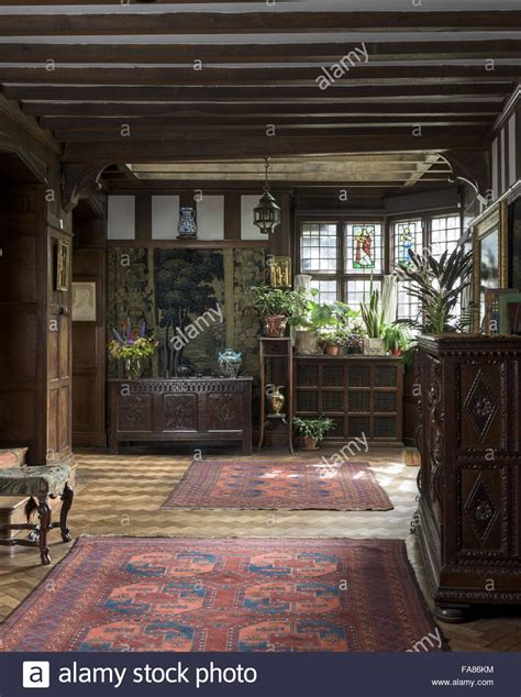 interior view  wightwick manor  gardens west