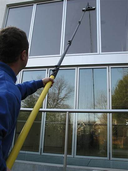Cleaning Window Washing Windows Clean Pole Exterior