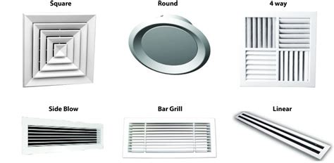 wall mounted heating and cooling ducted air conditioning vents quality air service