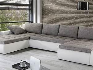 Graue Couch Wohnzimmer : wei graue couch hause deko ideen ~ Michelbontemps.com Haus und Dekorationen