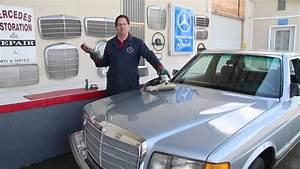 Restoring A Mercedes W126 300sd Part 7  Exterior Paint