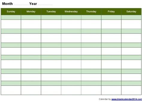 monthly calendar template free monthly calendar templates print blank calendars