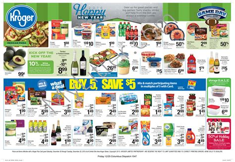 Kroger Ad Scan Starting 12/26 Is Here!