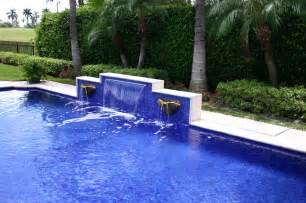 popular kitchen faucets glass tile waterfall eclectic pool miami by