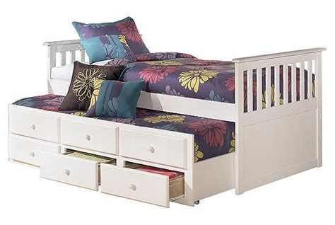 lulu twin trundle bed kids beds ashley furniture