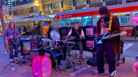 The aim is to help those in the creative industries recover from the effects of the pandemic and help rebuild the city's $1.5 billion income from the arts. Street Musician in San Francisco - YouTube