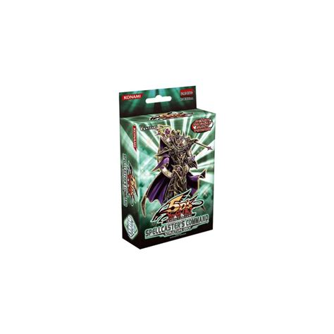Spellcaster Command Structure Deck by Spellcaster S Command Structure Deck Yu Gi Oh Te Koop