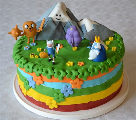 adventures in cake decorating adventure time birthday cake by hartifax on deviantart