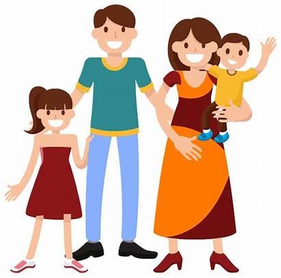 Clipart Parents Kind Clip Transparent Happy Smiling