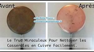 Nettoyer Du Cuivre : le truc miraculeux pour nettoyer les casseroles en cuivre ~ Melissatoandfro.com Idées de Décoration