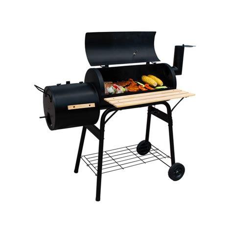 Fumoir Cuisine - grill barbecue au charbon de bois fumoir multifonctions
