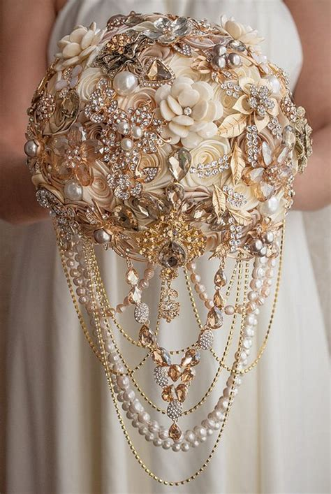 Top 10 Vintage Wedding Brooch Bouquet Ideas For 2018
