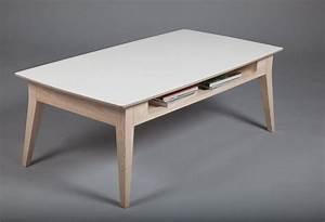Table Basse Rectangulaire Blanche : table basse rectangulaire blanche id es de d coration int rieure french decor ~ Teatrodelosmanantiales.com Idées de Décoration