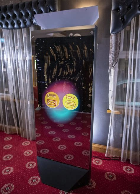 mirror  giant ft tall magic mirror photo booth rental